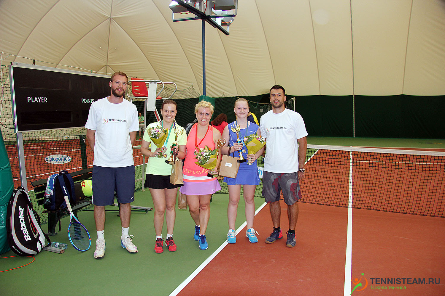 >TennisTeam Tour Series июнь 2016